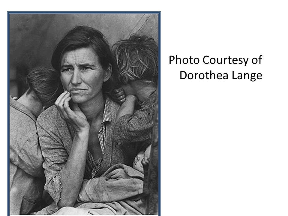 Photo Courtesy of Dorothea Lange
