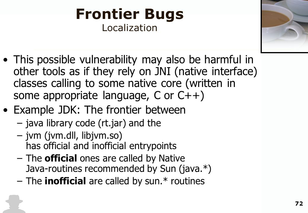 Frontier Bugs Localization