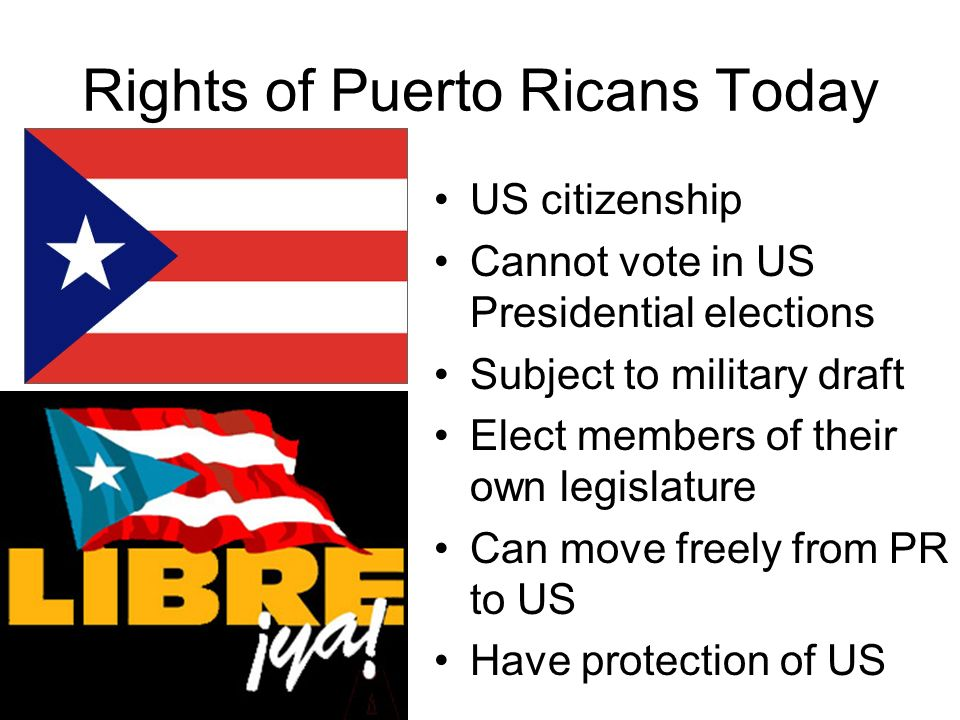 Rights of Puerto Ricans Today