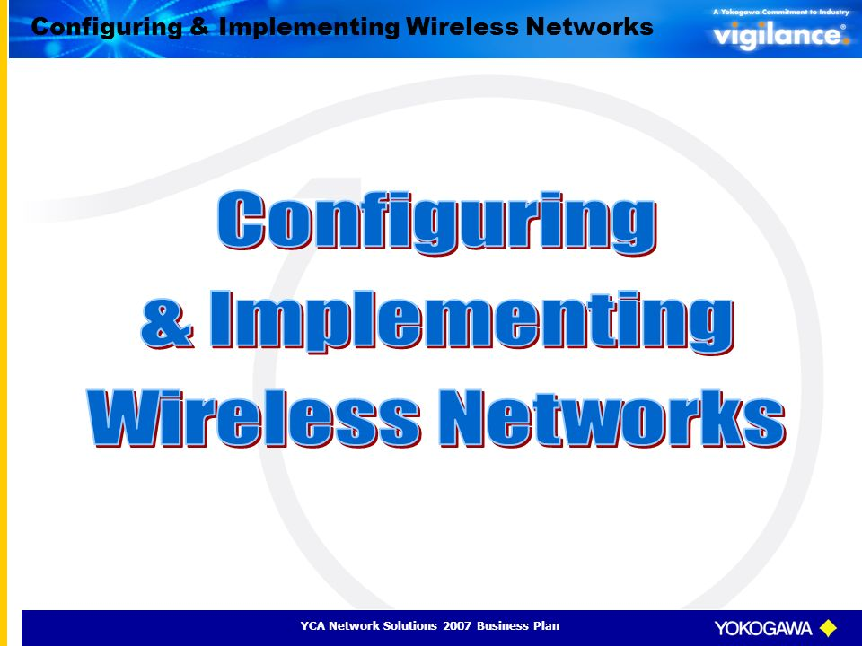 Configuring & Implementing Wireless Networks