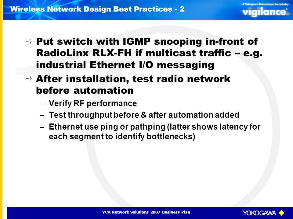 Wireless Network Design Best Practices - 2