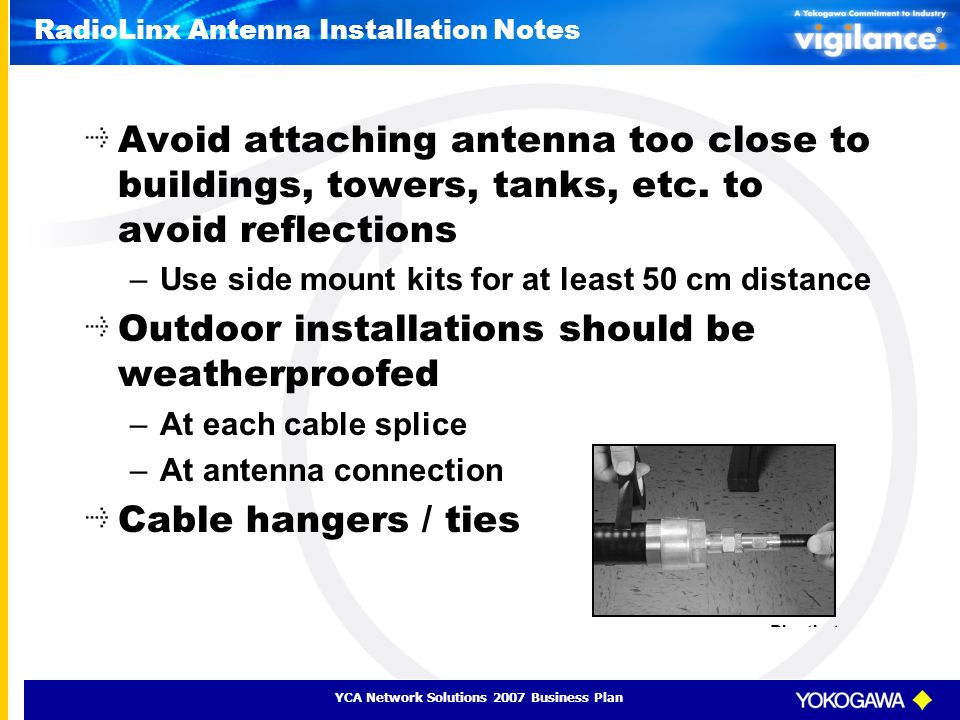 RadioLinx Antenna Installation Notes