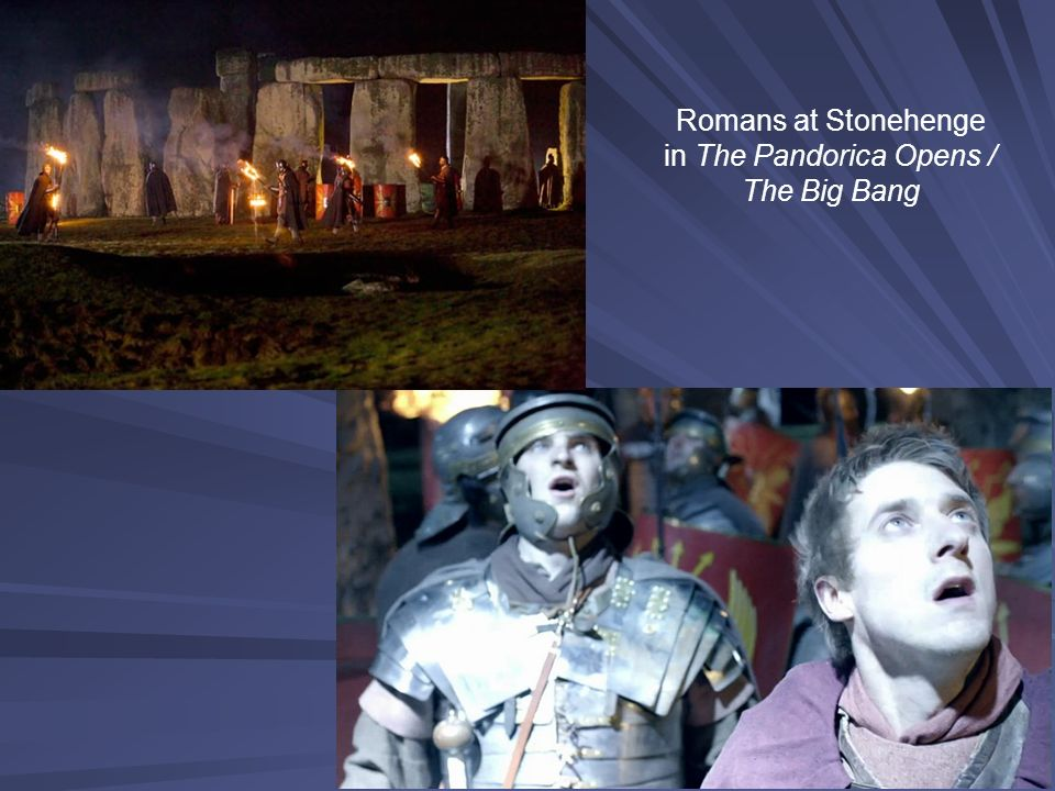 Romans at Stonehenge in The Pandorica Opens / The Big Bang