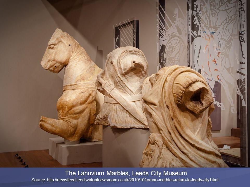 The Lanuvium Marbles, Leeds City Museum