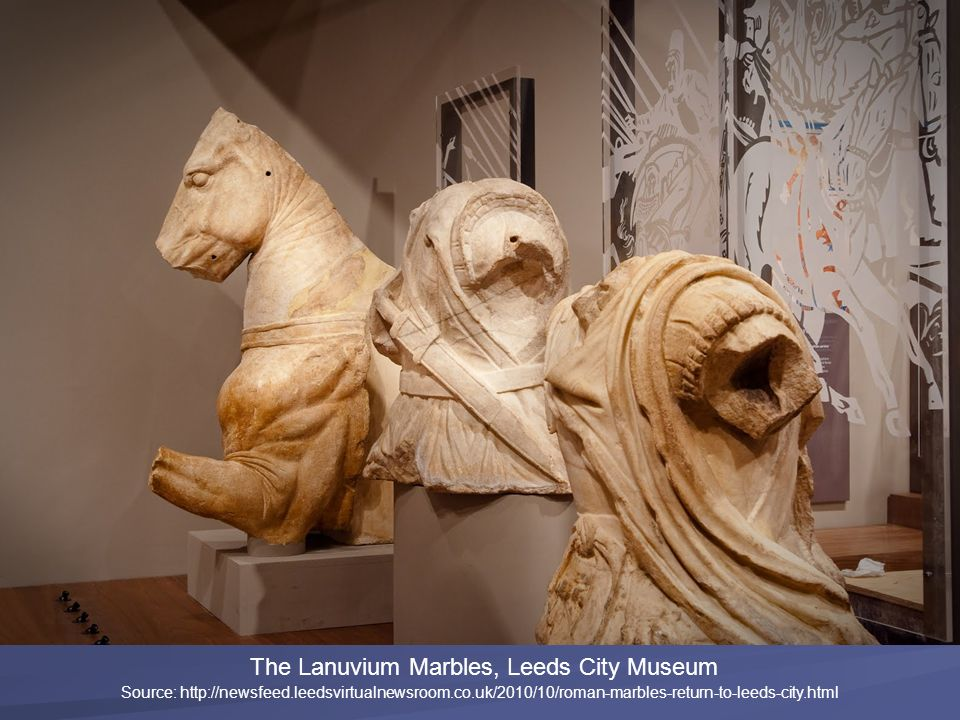 The Lanuvium Marbles, Leeds City Museum