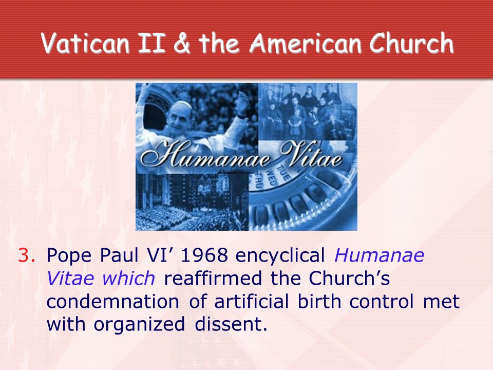 Vatican II & the American Church