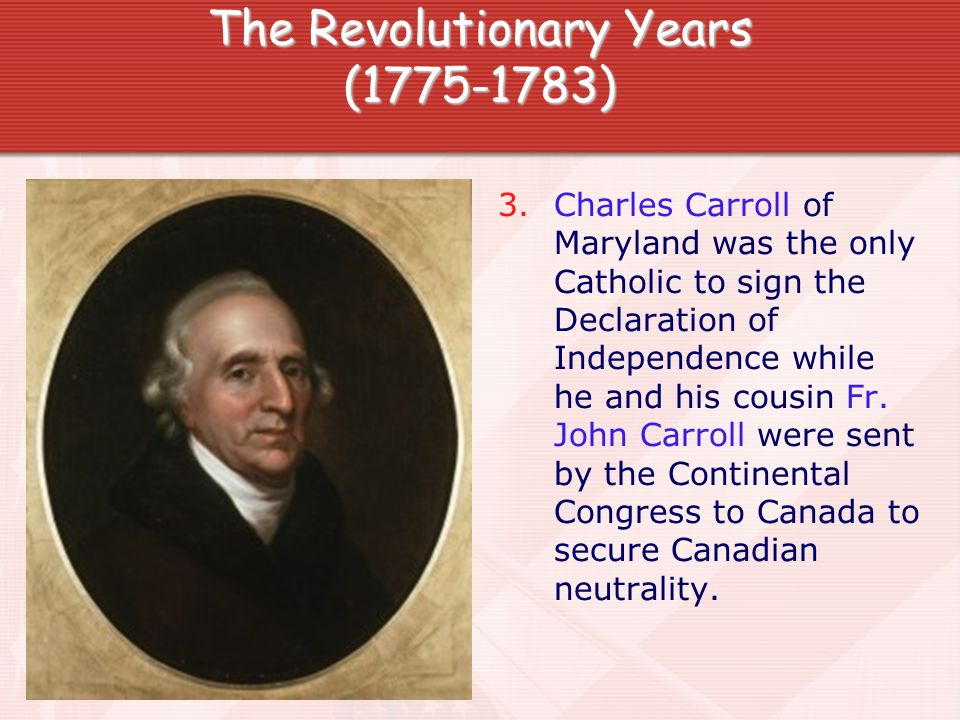 The Revolutionary Years (1775-1783)