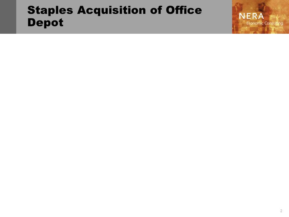Staples Acquisition of Office Depot