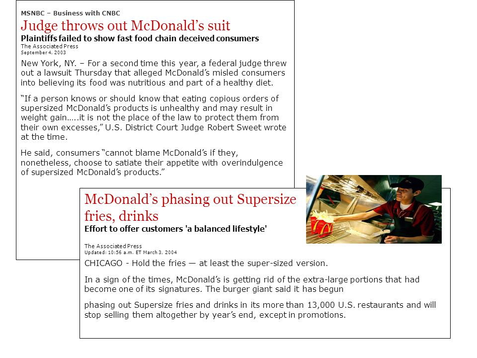 Judge throws out McDonald's suit