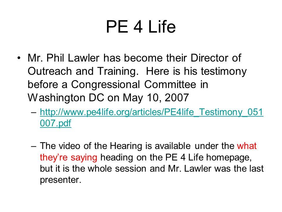 PE 4 Life