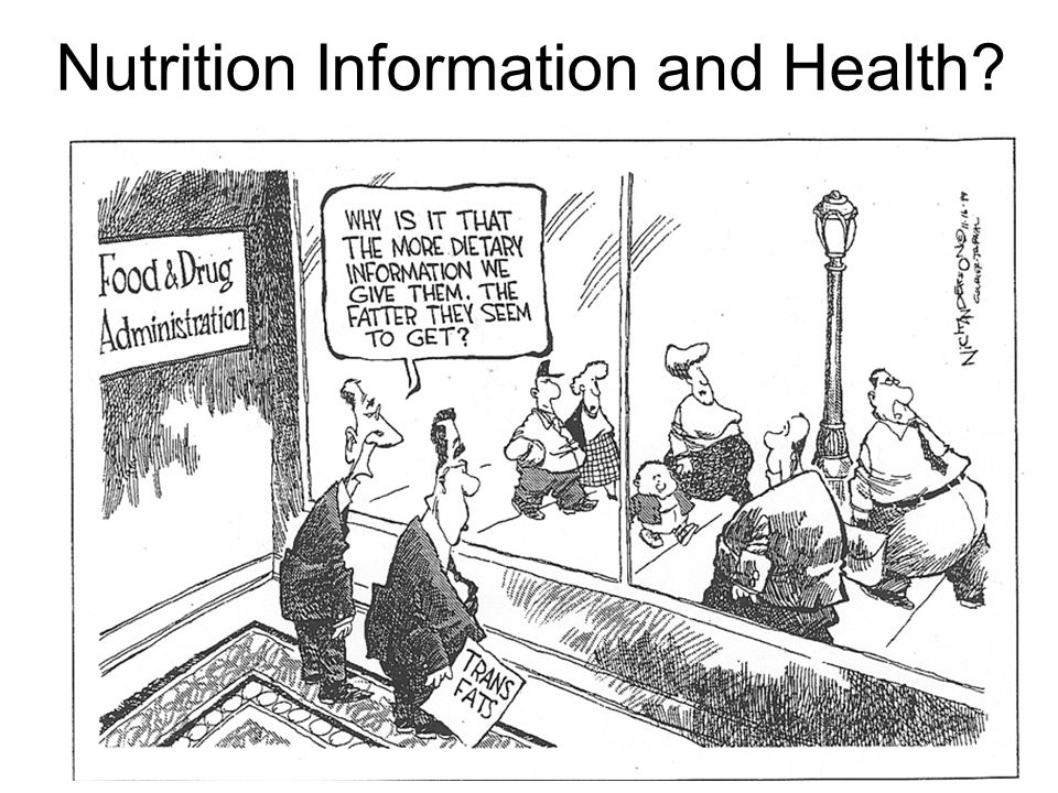 Nutrition Information and Health