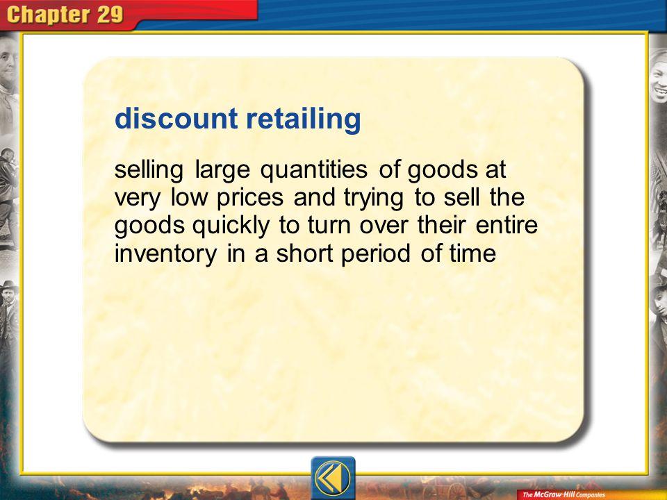 discount retailing