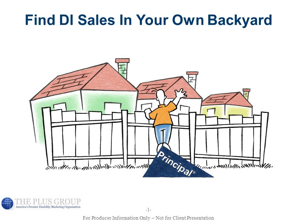 Find DI Sales In Your Own Backyard