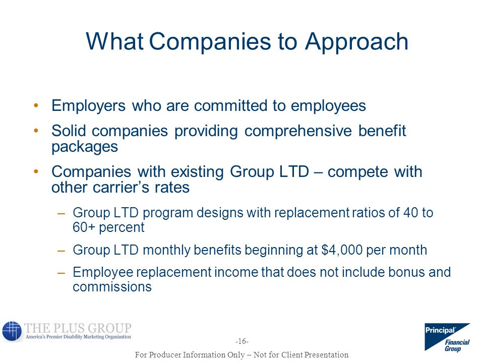 What Companies to Approach