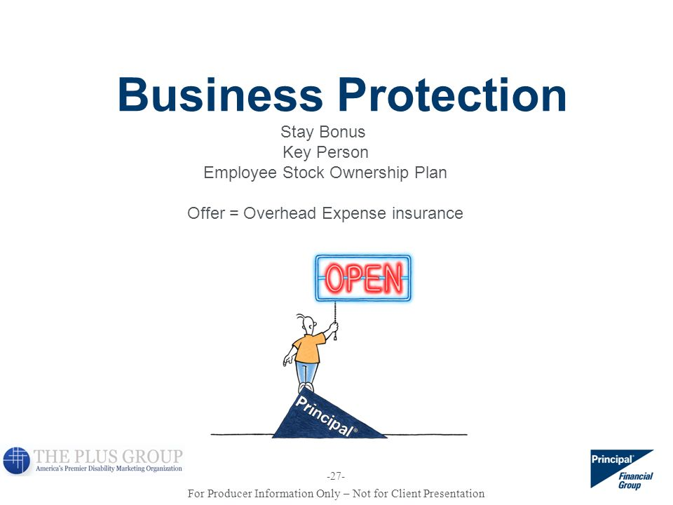 Business Protection Stay Bonus Key Person