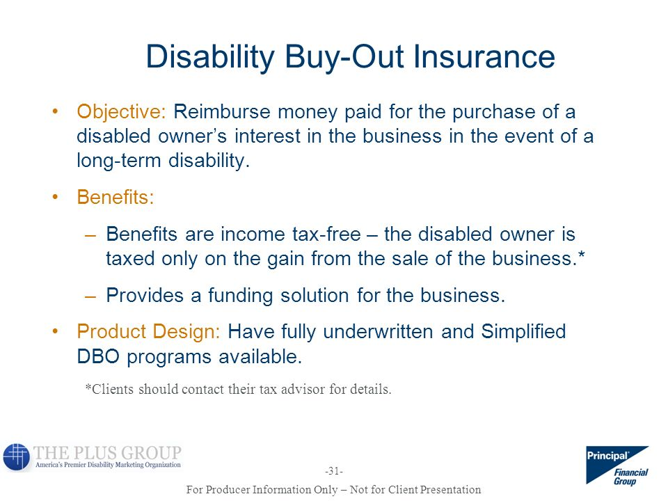 Disability Buy-Out Insurance