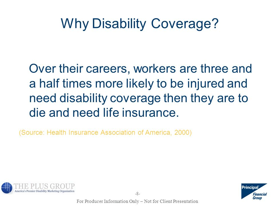 Why Disability Coverage