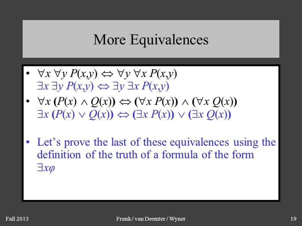 Proving a Quantifier Equivalence