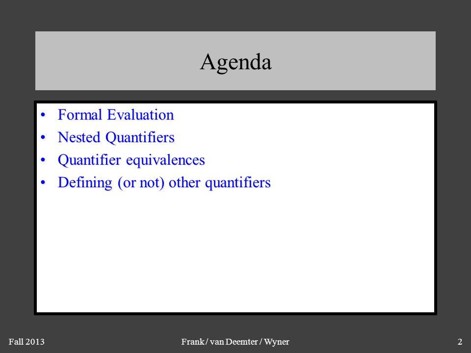 Formal Evaluation - B(bill )