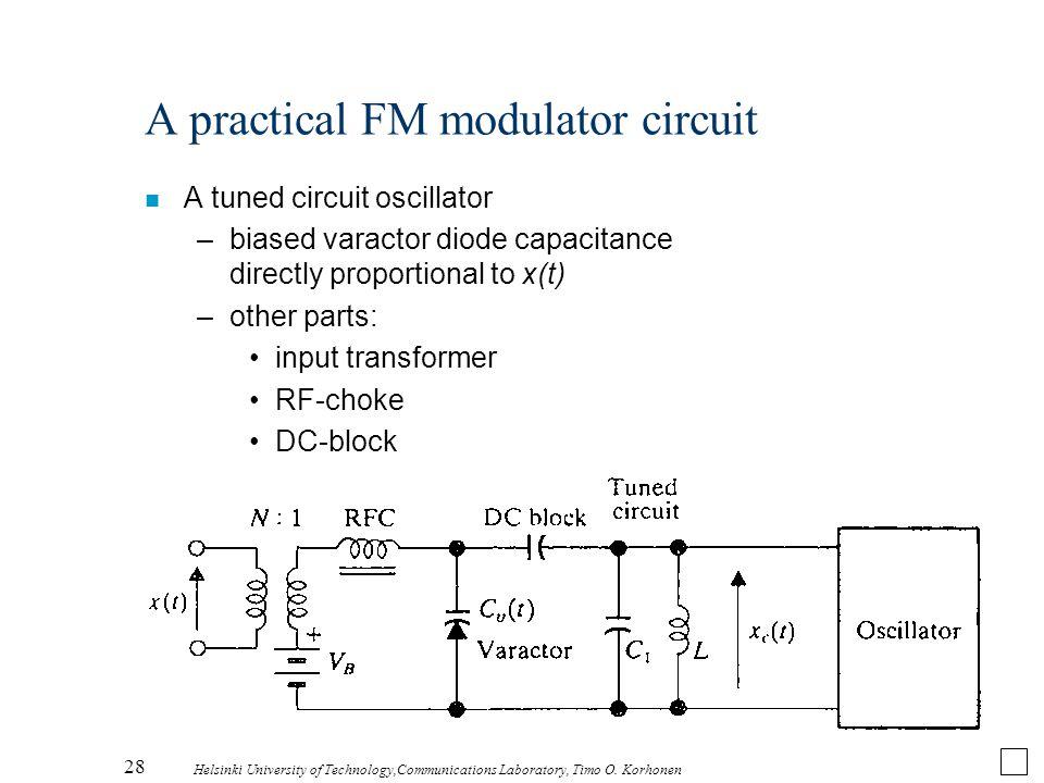 A practical FM modulator circuit