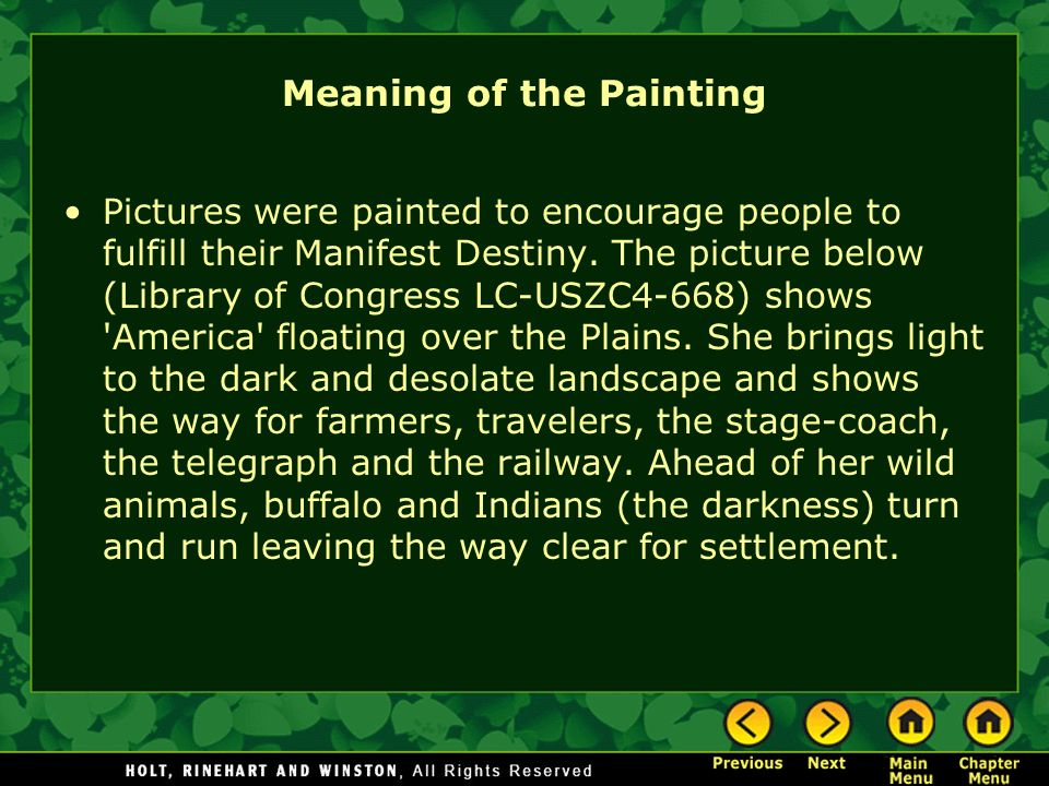 Meaning of the Painting