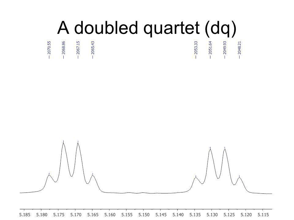 A doubled quartet (dq)