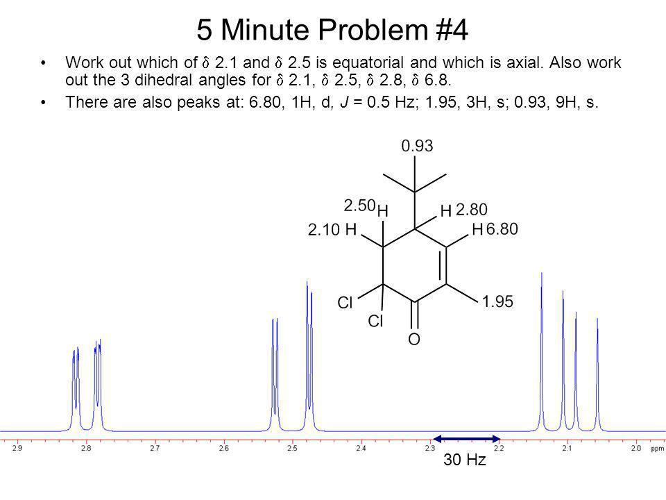 5 Minute Problem #4