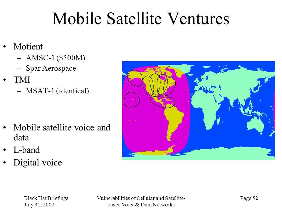 Mobile Satellite Ventures