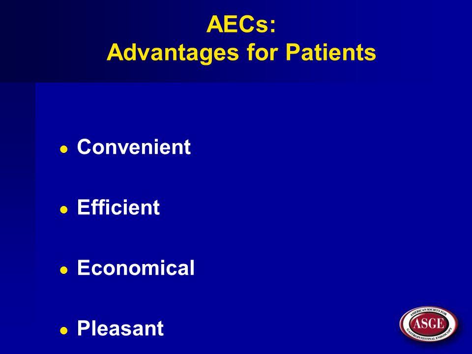 AECs: Advantages for Patients