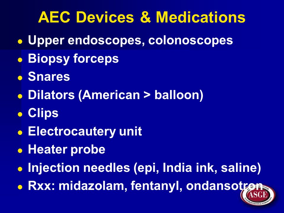 AEC Devices & Medications