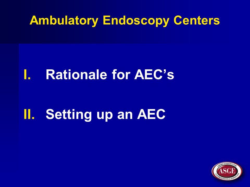 Ambulatory Endoscopy Centers
