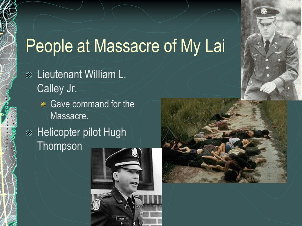 People at Massacre of My Lai