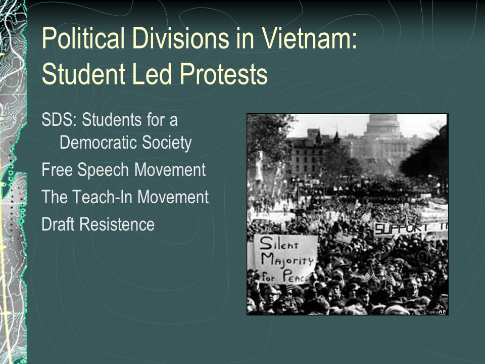 Political Divisions in Vietnam: Student Led Protests