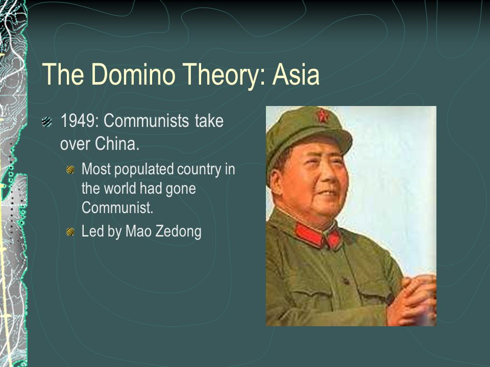 The Domino Theory: Asia