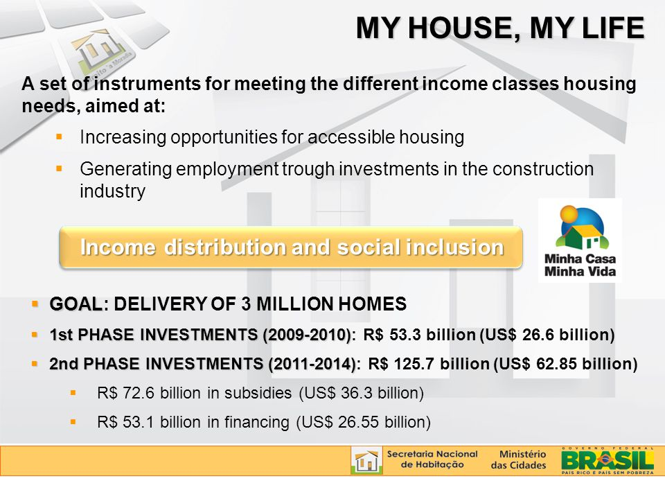 Income distribution and social inclusion