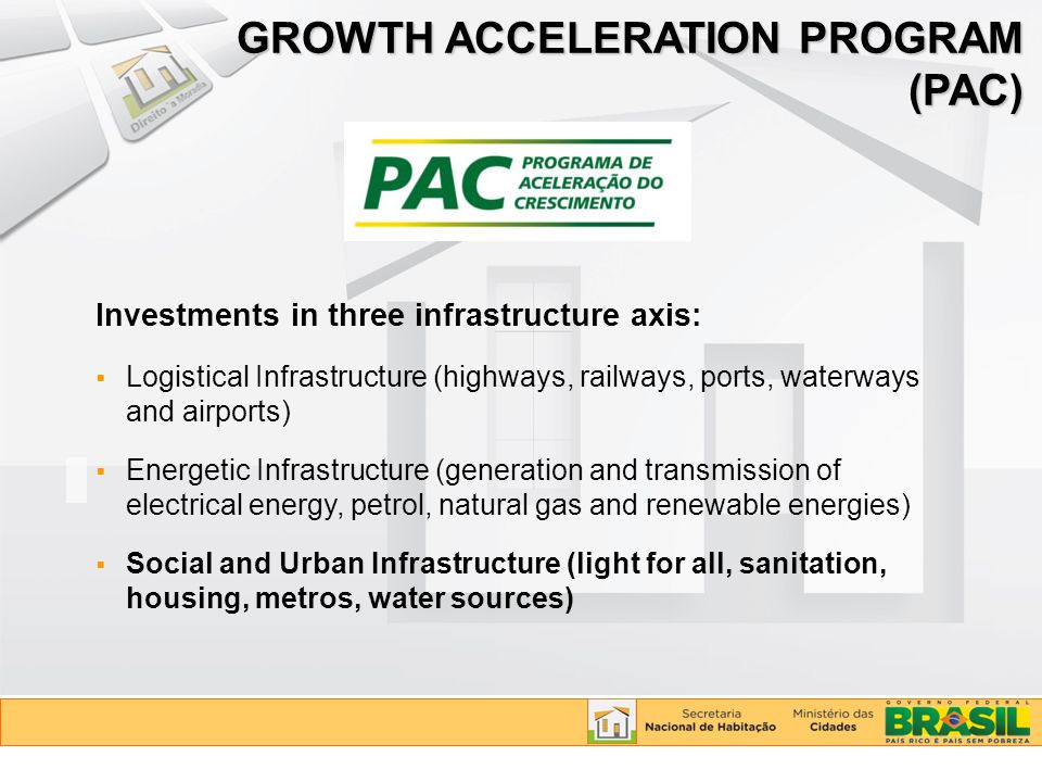 GROWTH ACCELERATION PROGRAM (PAC)