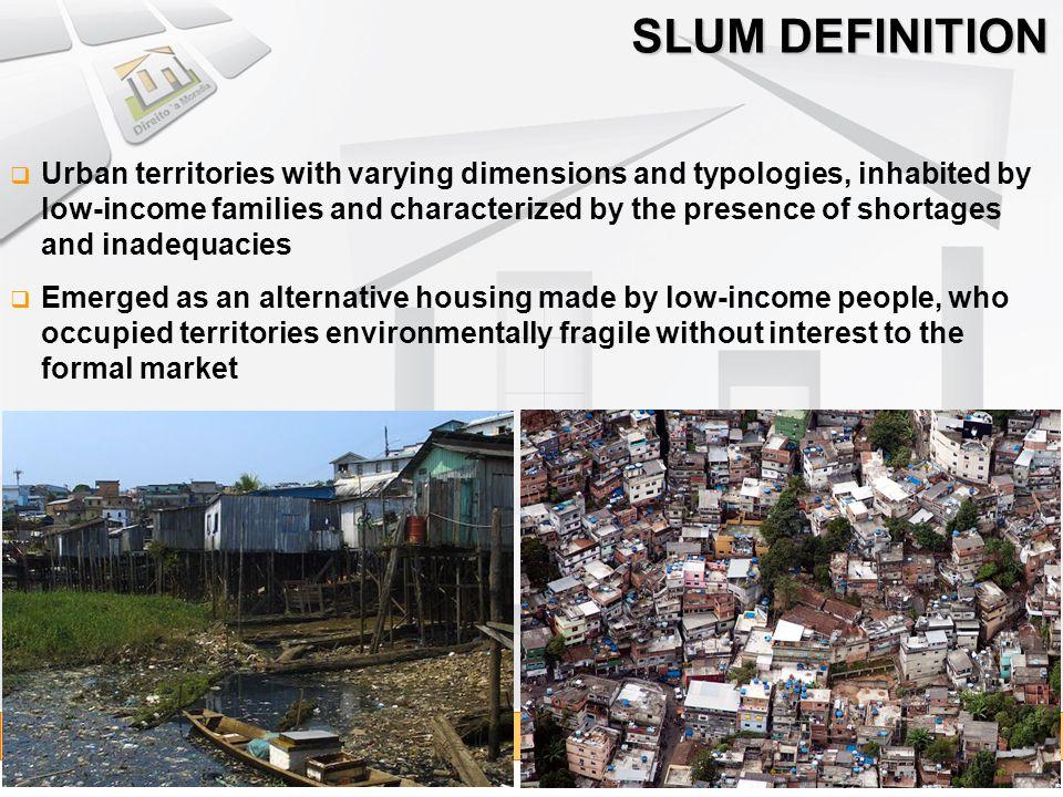 SLUM DEFINITION