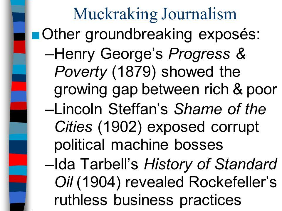 Muckraking Journalism