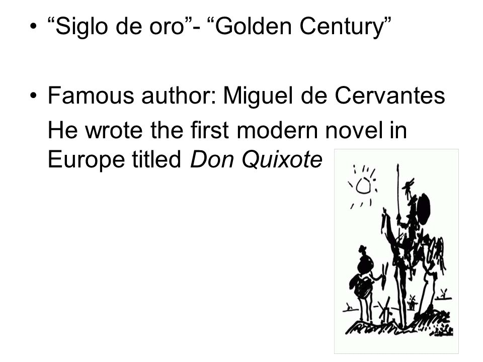Siglo de oro - Golden Century
