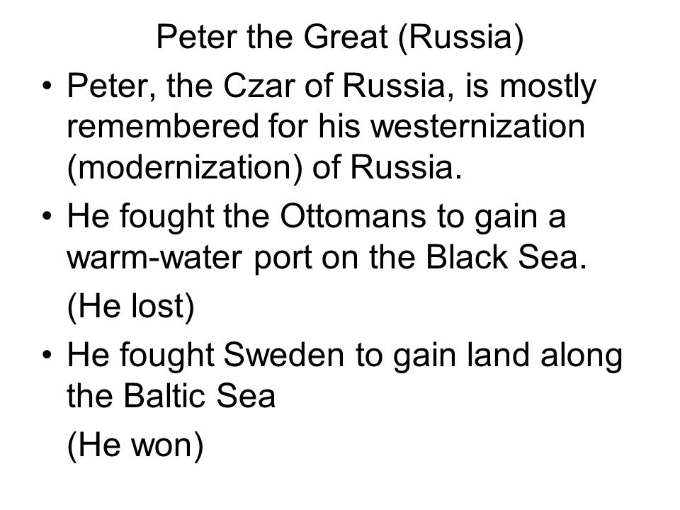 Peter the Great (Russia)