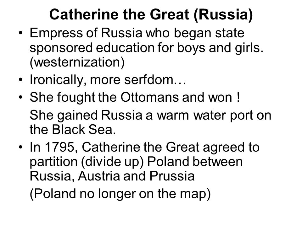 Catherine the Great (Russia)