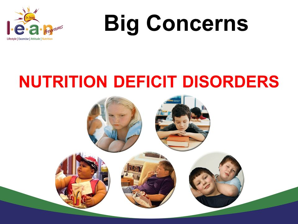 NUTRITION DEFICIT DISORDERS