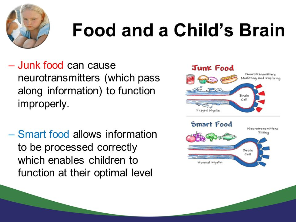 Food and a Child's Brain