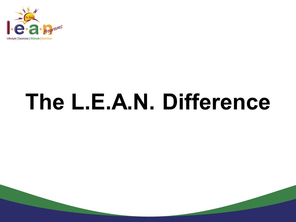 The L.E.A.N. Difference