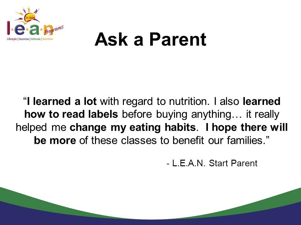 Ask a Parent