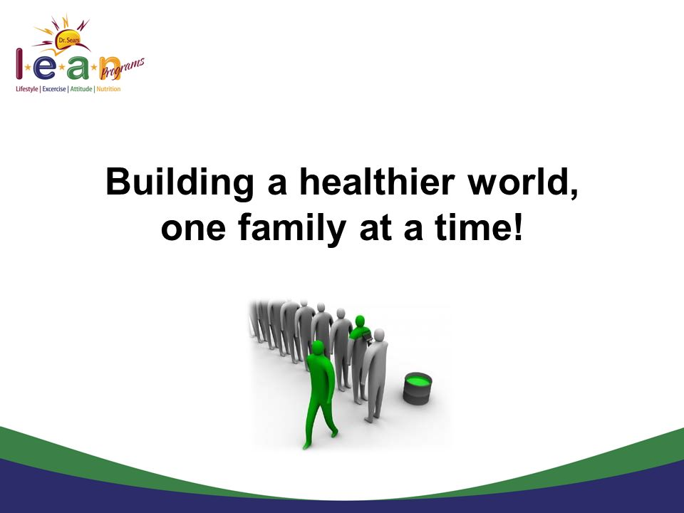 Building a healthier world,