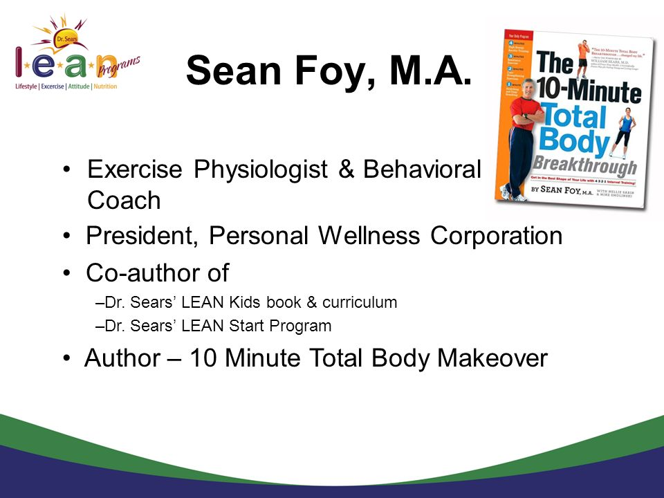Sean Foy, M.A. Exercise Physiologist & Behavioral Coach