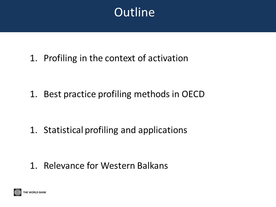 Outline Profiling in the context of activation