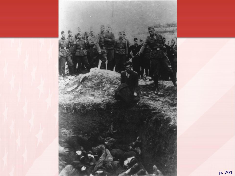 EXECUTION OF AN UKRAINIAN JEW The German Einsatzgruppen, special mobile squads ordered to carry out the Final Solution of killing all Jews, murdered some 600,000 Ukrainian Jews in the summer of 1941.