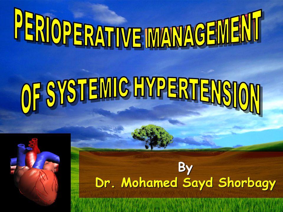 By Dr. Mohamed Sayd Shorbagy